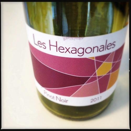 Les Hexagonales Pinot Noir 2011, Loire Valley