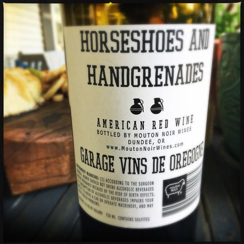 Horseshoes and Handgrenades Back