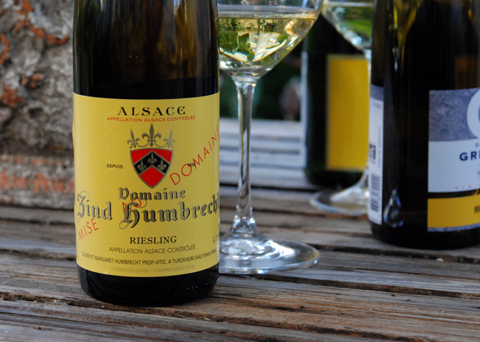 Domaine Zind Humbrecht riesling 2013 is rich and toasty, golden in color and delicious.