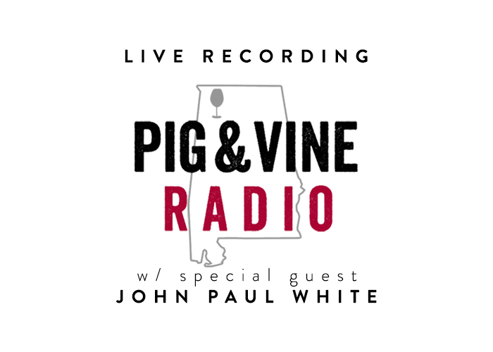 Pig&Vine Radio at Florence Wine Fest with John Paul White
