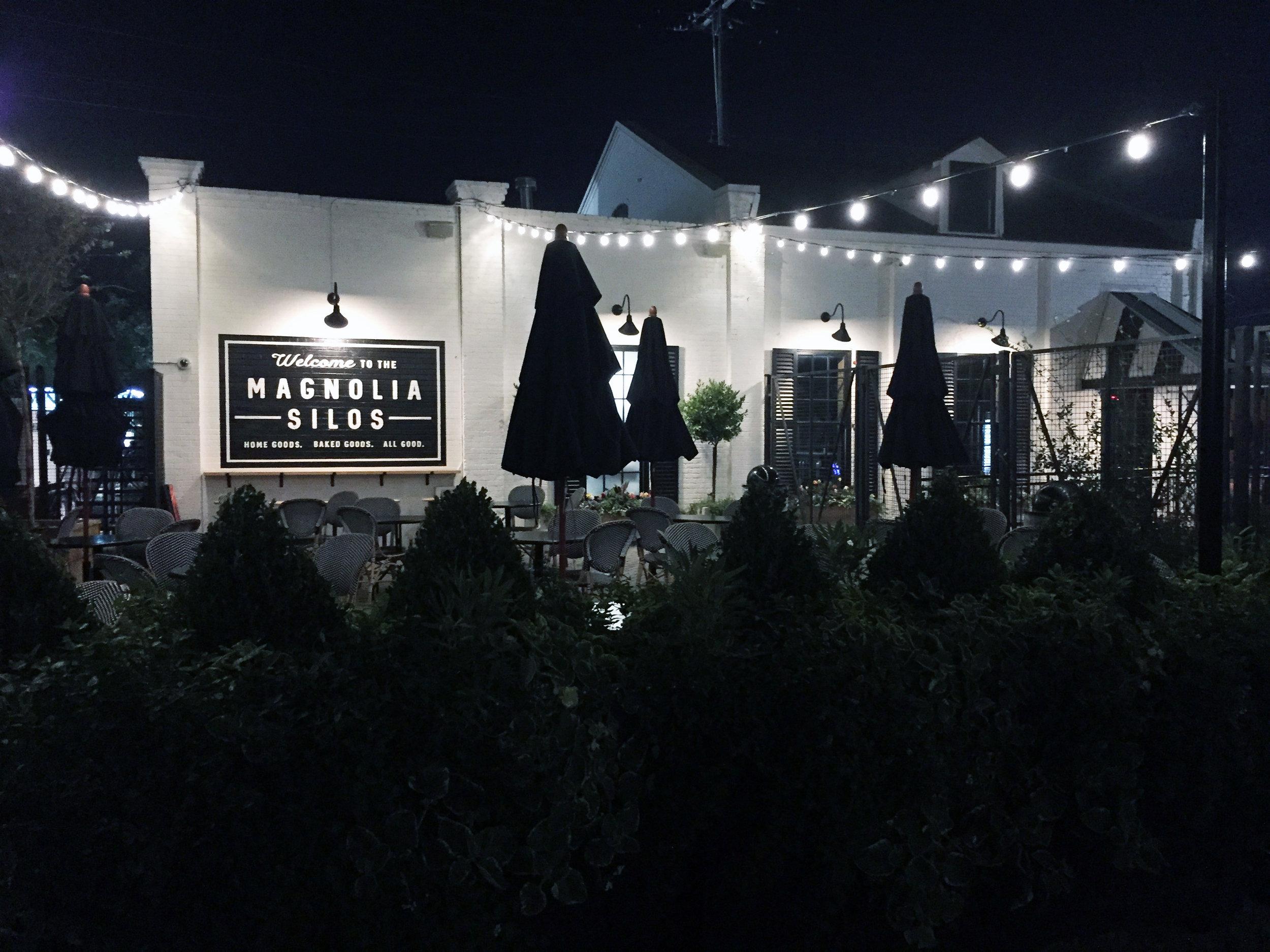 The Bakery at night!