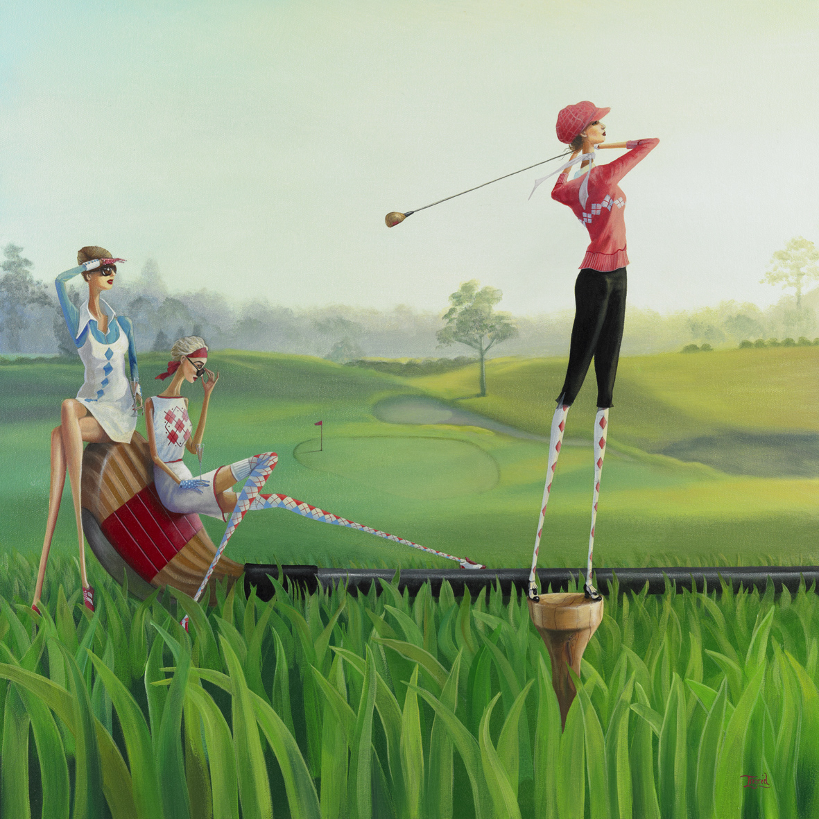 Tee Off - SOLD