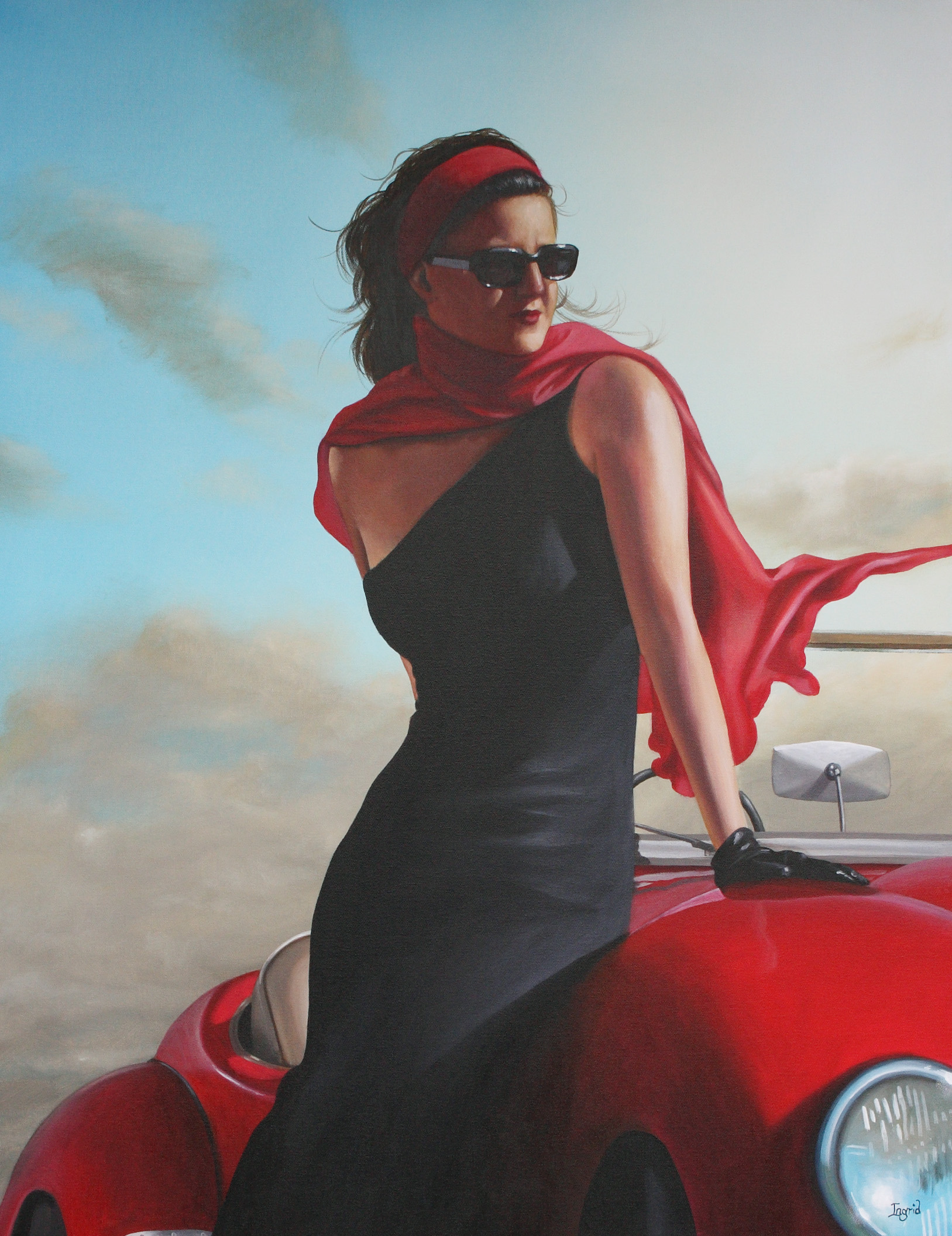 Little Red Number II – SOLD