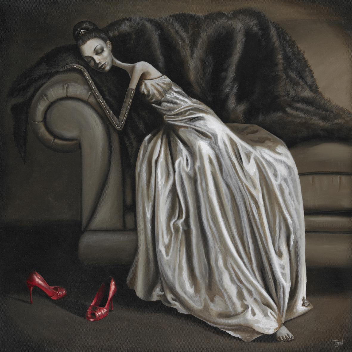 Red Shoes – SOLD