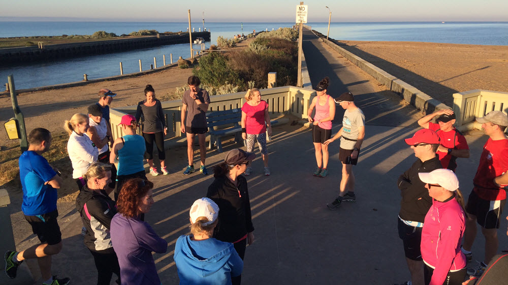 A MSRC Sunday Run Group Session