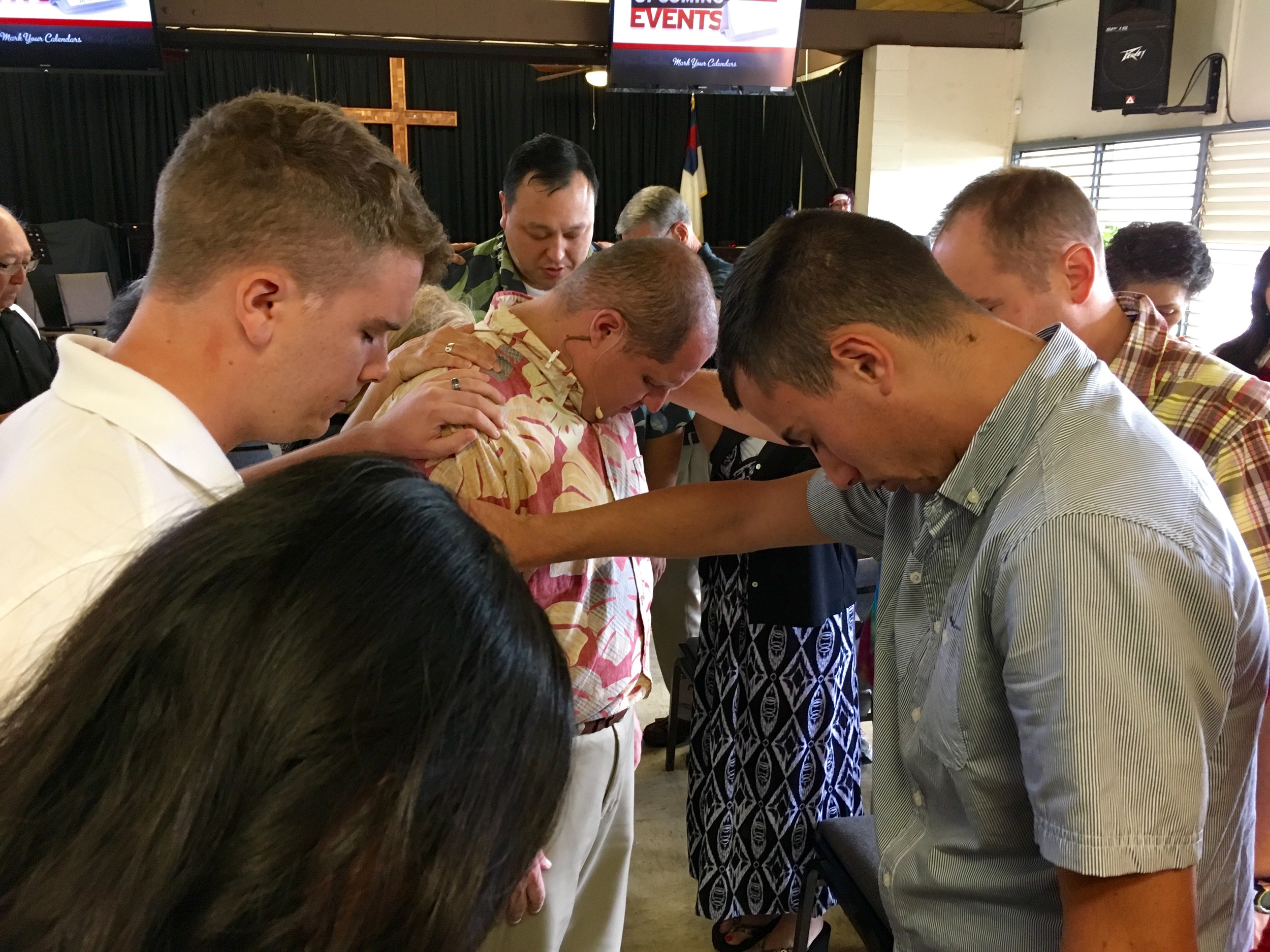 Mililani Baptist Church Praying for Pastor Jarod and Missions Team to the Philippines