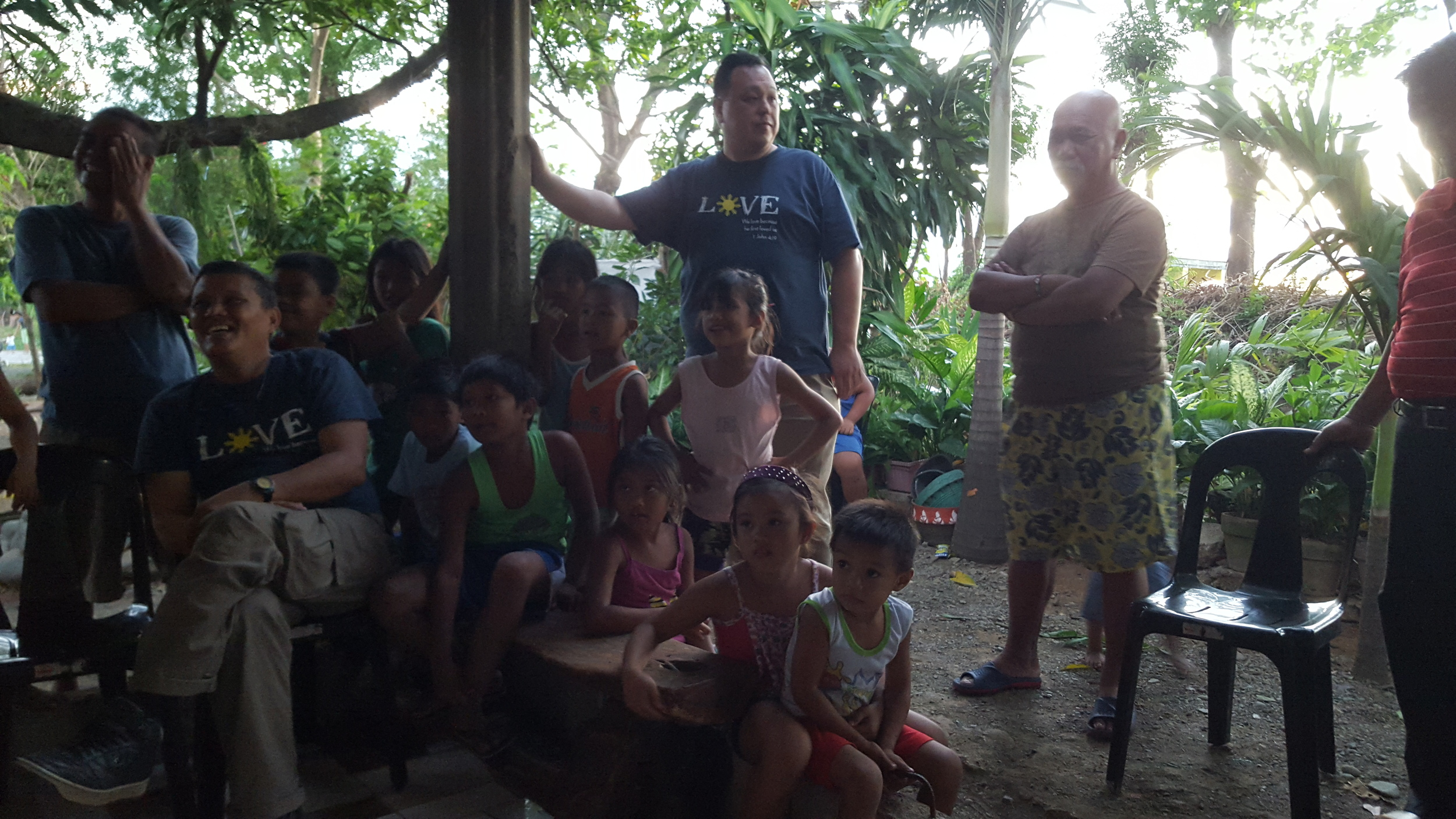 Pastor Alan with Mililani Baptist Missions Team in the Philippines