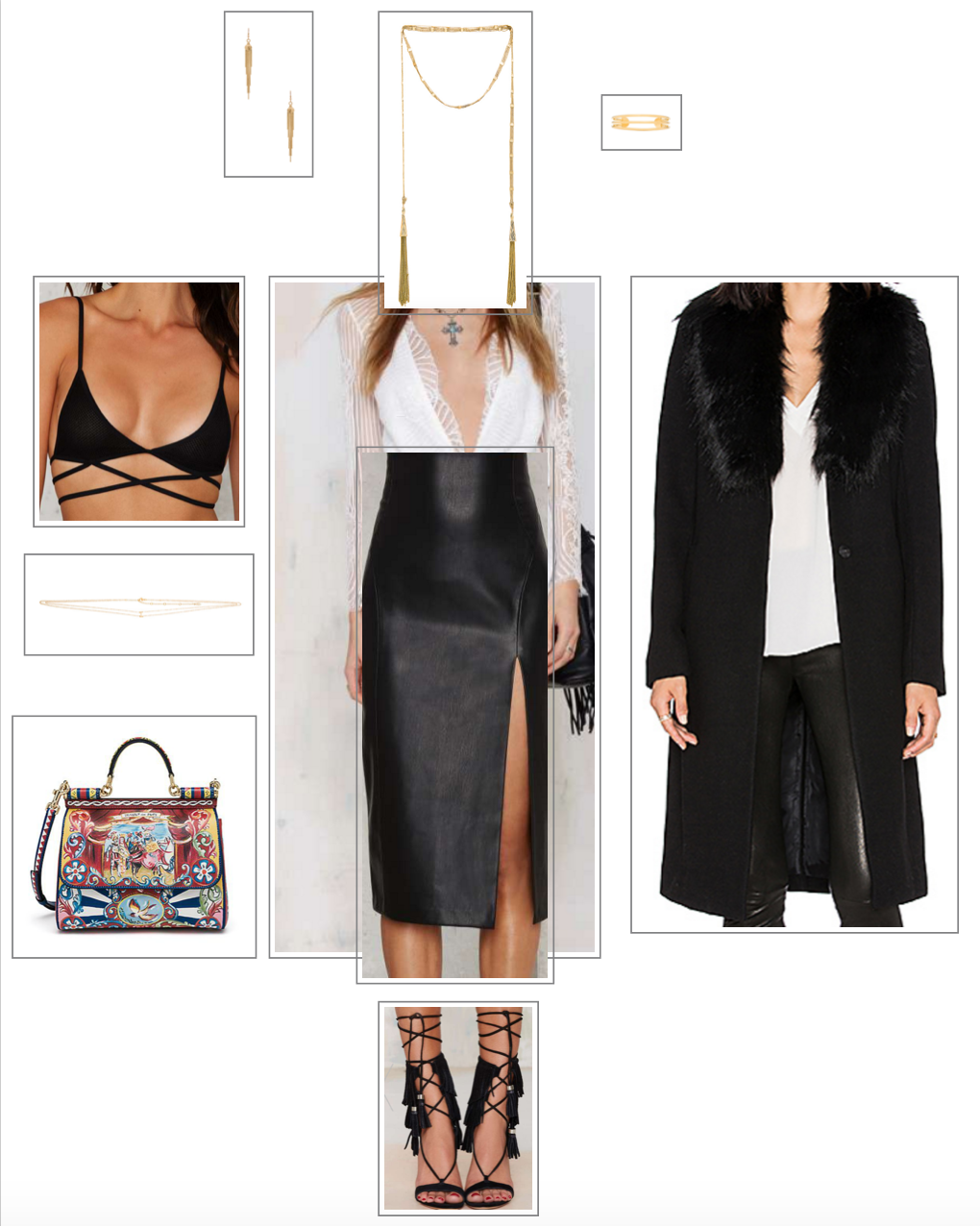 OUTFIT 1 : Dinner party