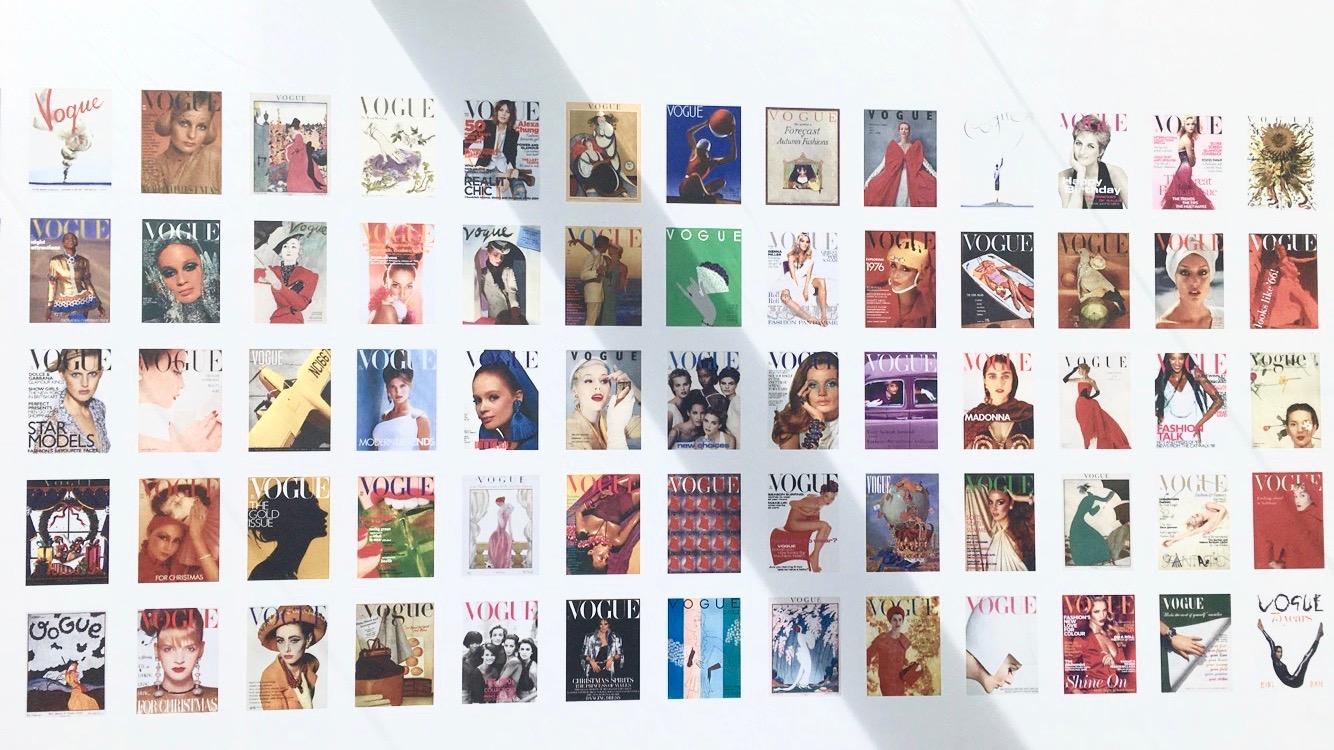 100 years of Vogue UK