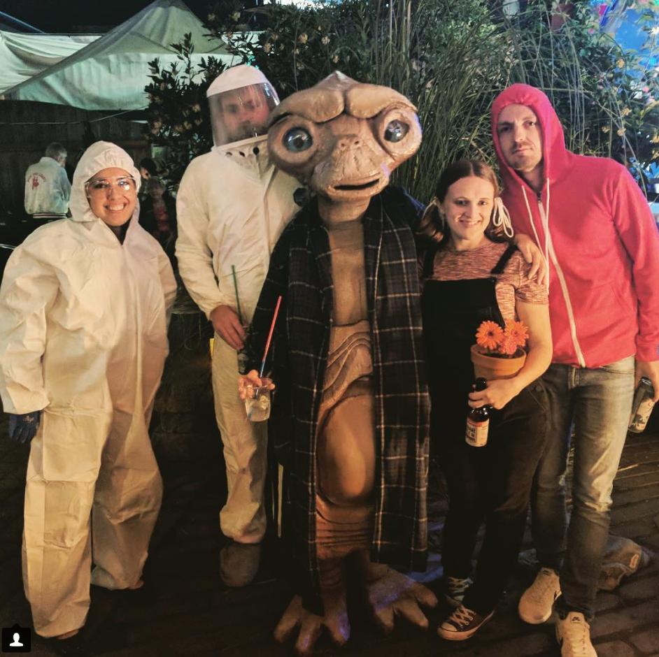 E.T. Costume