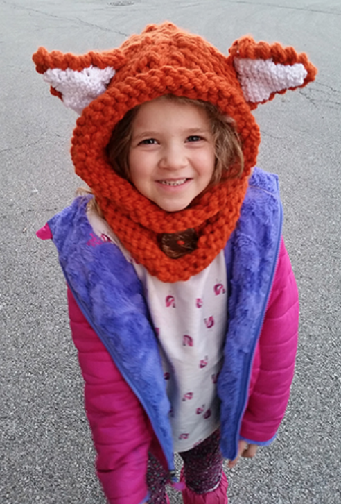 Knit Fox Hoodies
