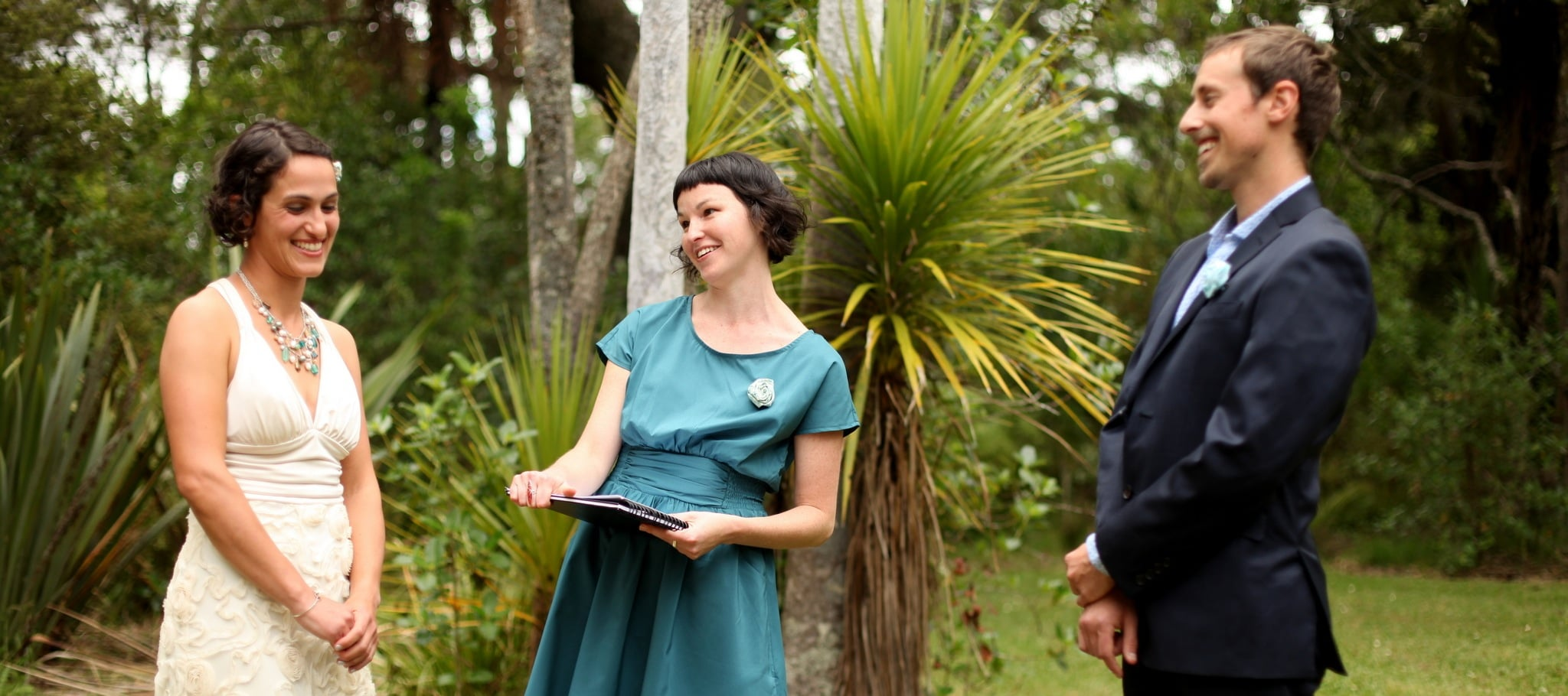 Brough Johnson, a wedding and civil union celebrant based in Auckland, New Zealand.