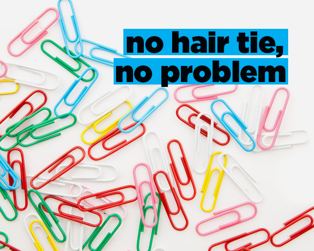 7 Random Objects That Can Stand in for Your Hair Tie