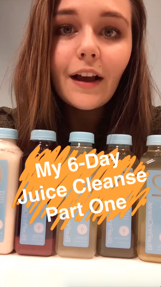 My 6-Day Juice Cleanse Part One