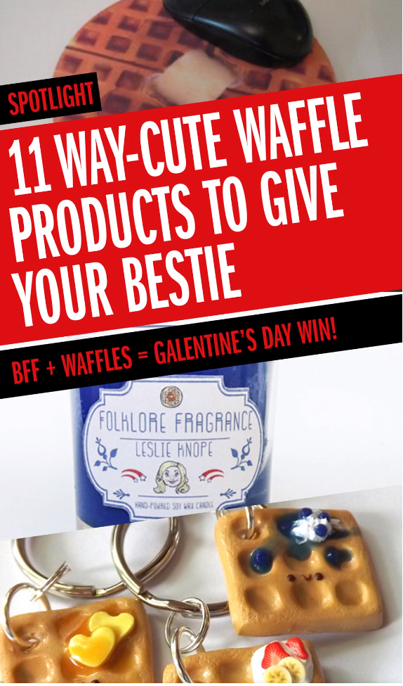 Waffle Gifts to Give Your Bestie