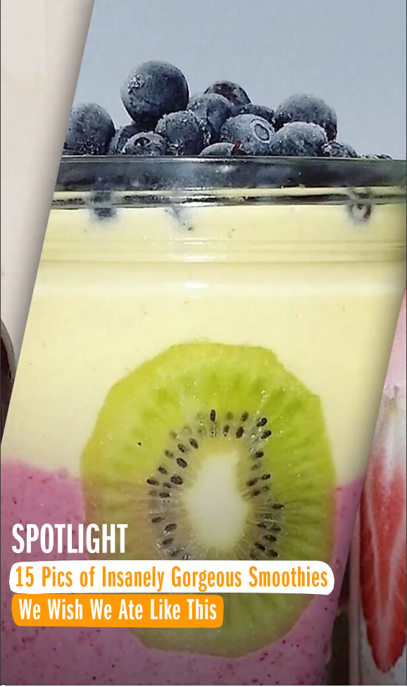 15 Pics of Insanely Gorgeous Smoothies