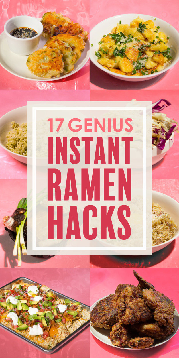 17 Genius Instant Ramen Hacks
