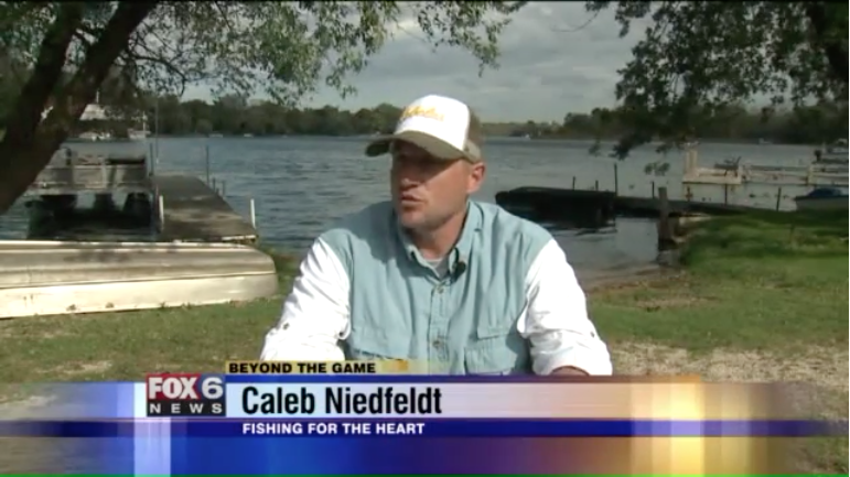 FOX 6 Story about Fishing For The Heart