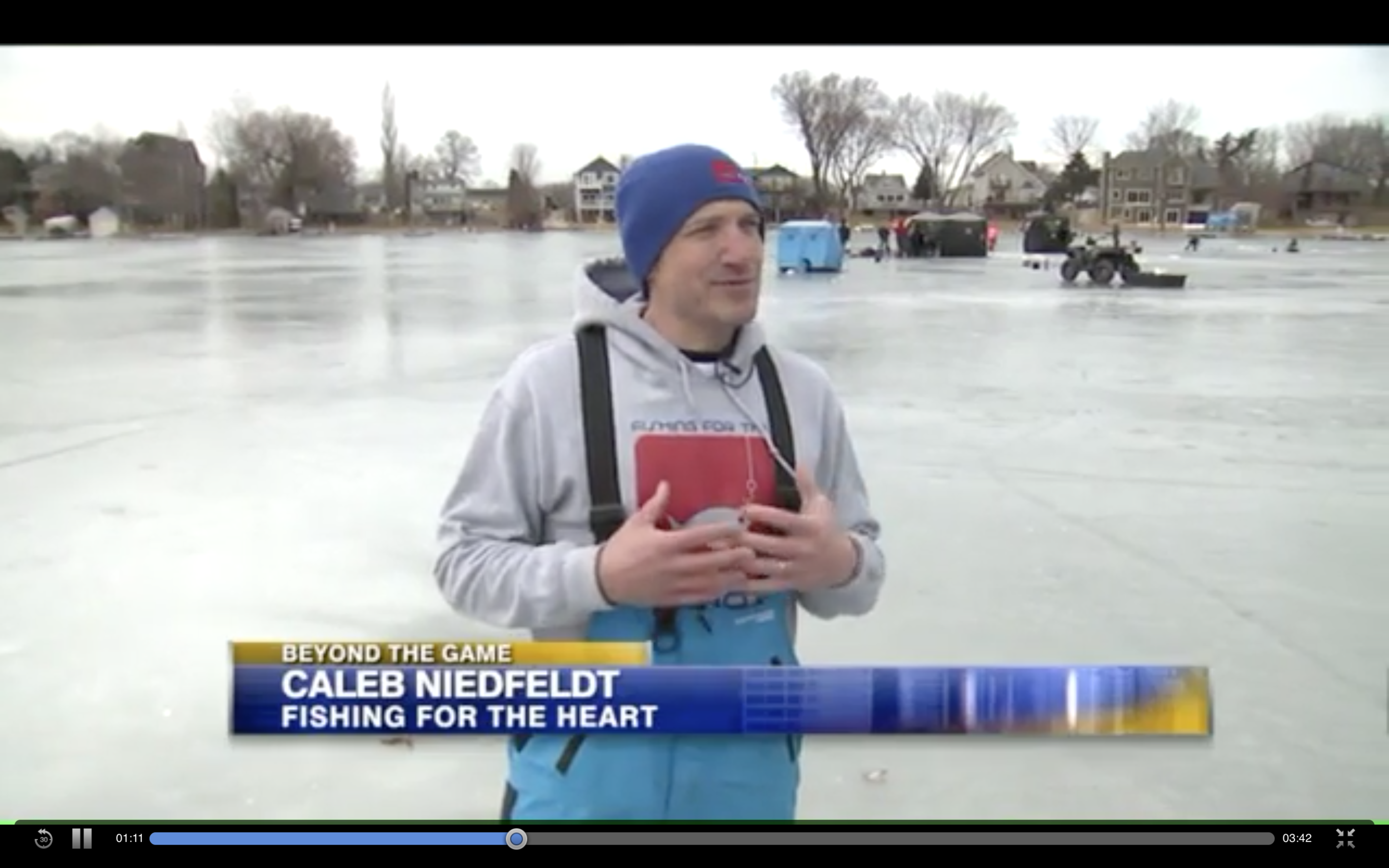Our Fox 6 Ice Fishing Story!