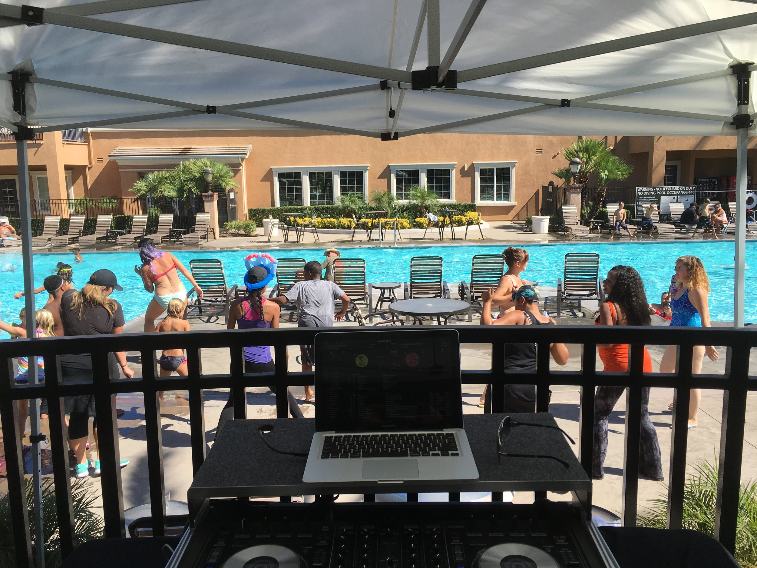 Pool Party Event - Rancho Cucamonga CA