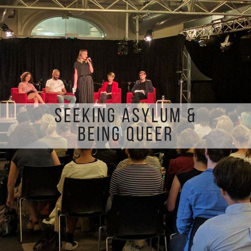 Event - Seeking Asylum & Being Queer - Hosted at the Wheeler Centre.