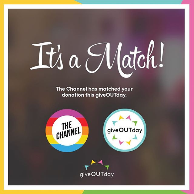 Today is @giveoutdayau and we're matching your donations to the 40+ participating #LGBTIQ+ orgs dollar for dollar 🥰🥰 Don't keep your match waiting... link in our bio 🏳️‍🌈