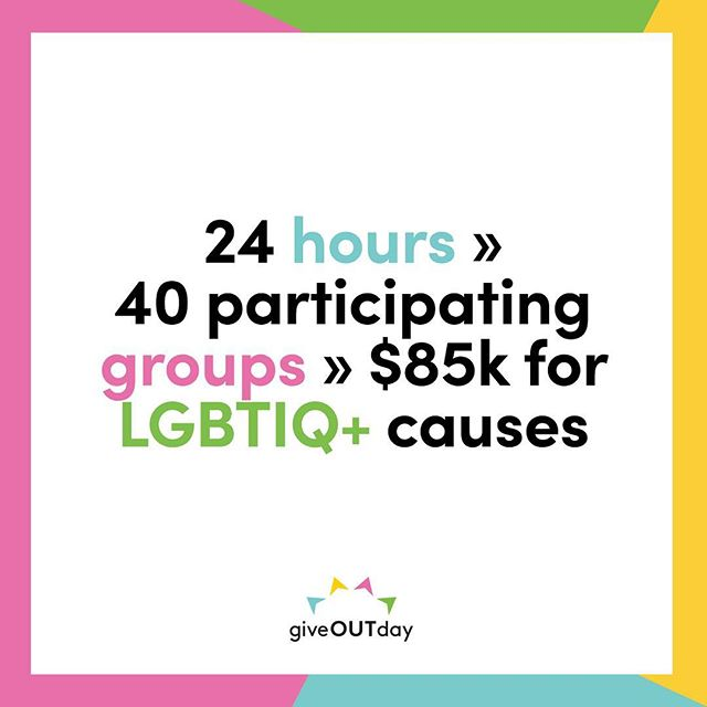 A big THANK YOU to everyone who participated in @giveoutdayau last week and made its first year in Australia such a success! We're proud to be growing the pot of gold under the rainbow with you all 🥰