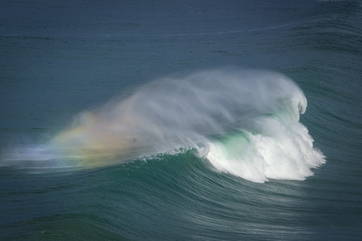 Large swells and perfect offshore winds..