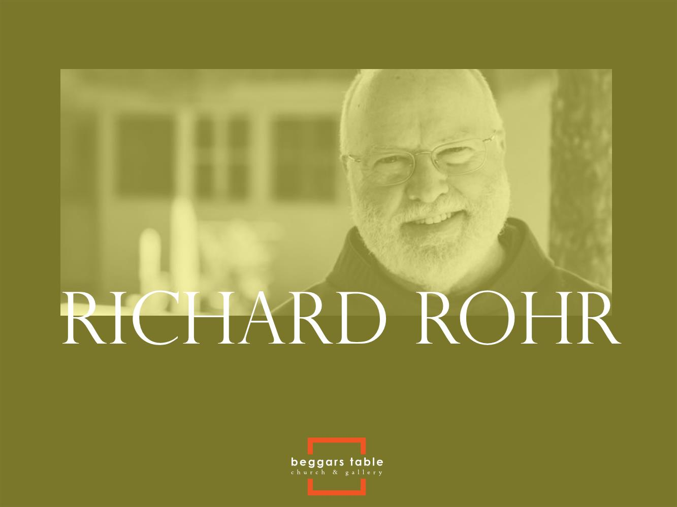 BT influence - Richard Rohr