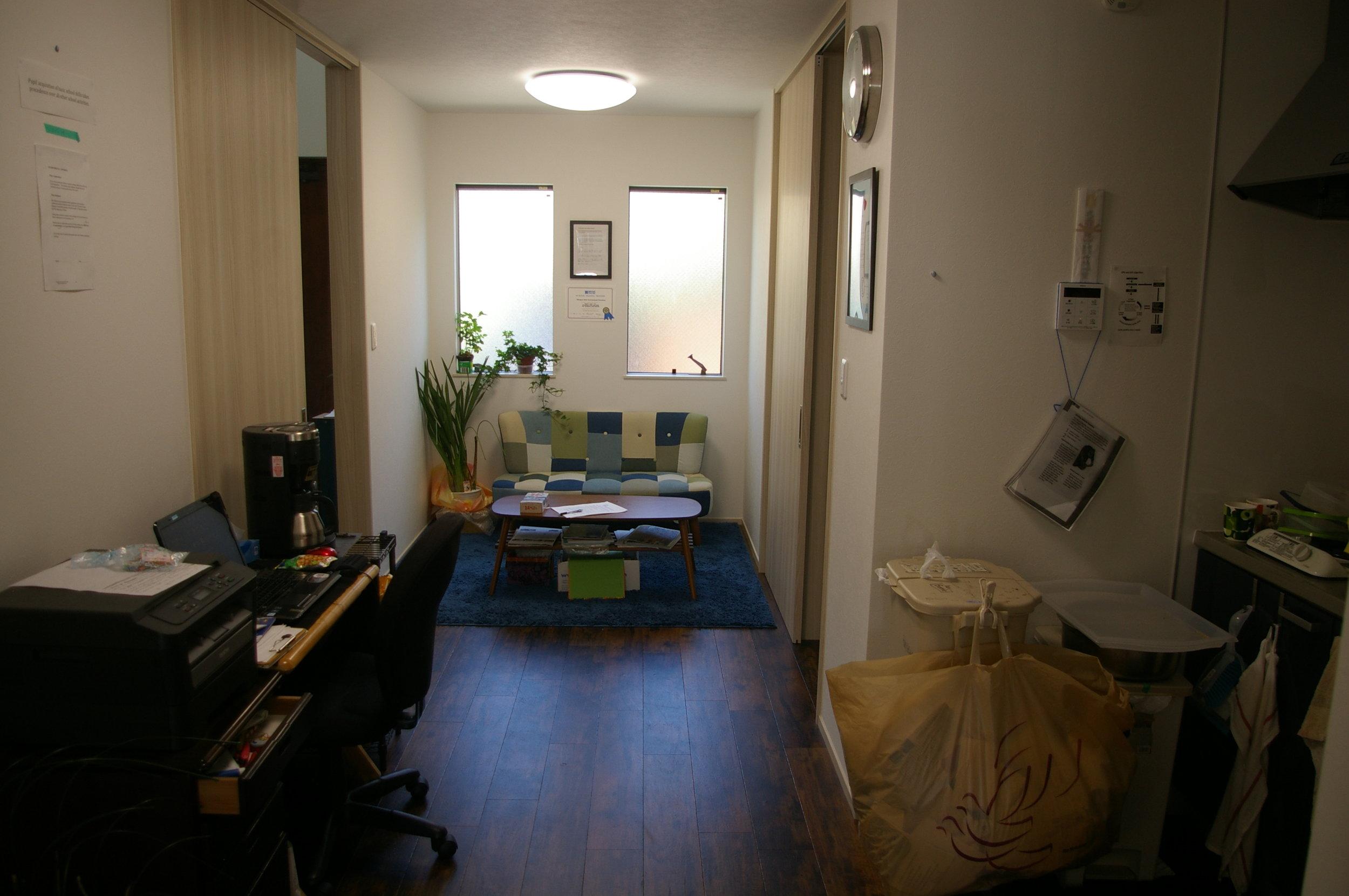 Interview Room /Staff Room  面談ルーム / スタッフルーム