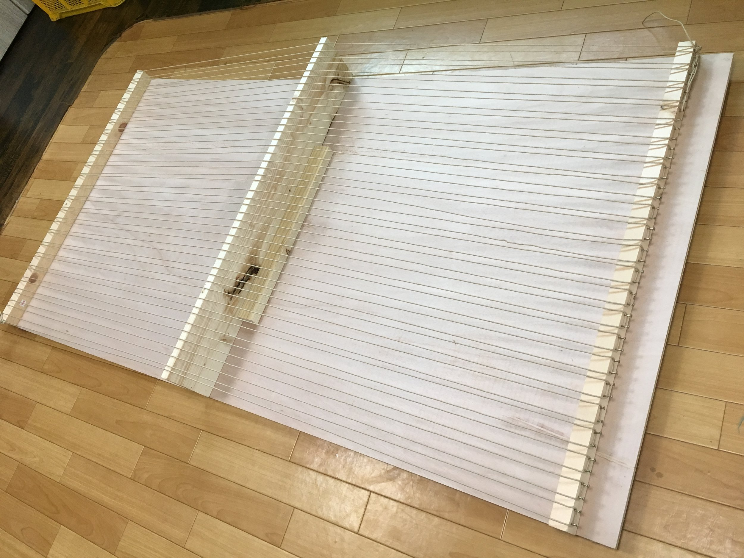 Giant loom completed