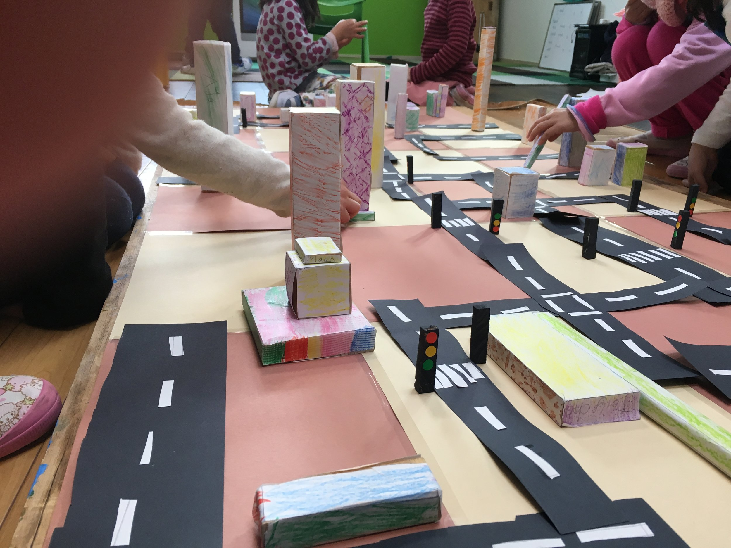 By keeping the design flexible we were able to rebuild our city in different ways, opening up many new opportunities for further discussion and learning.
