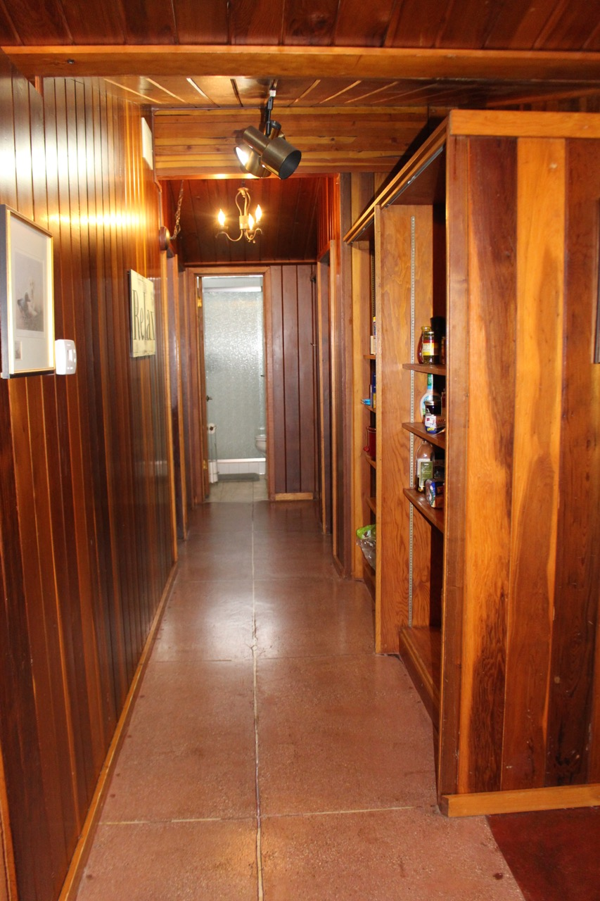 O'Ryan House Wood Paneled Hallway