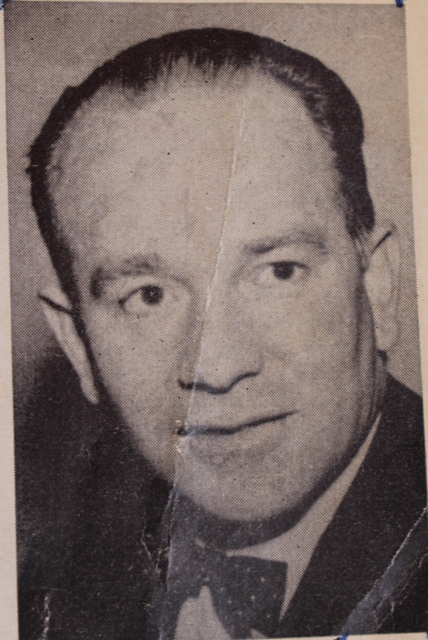 Wayne McClure photo from Parade Brochure