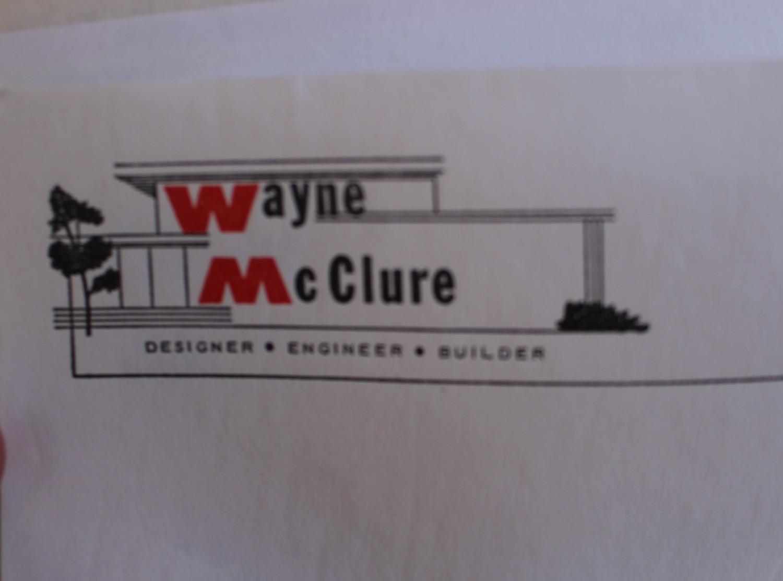 Wayne McClure Letterhead