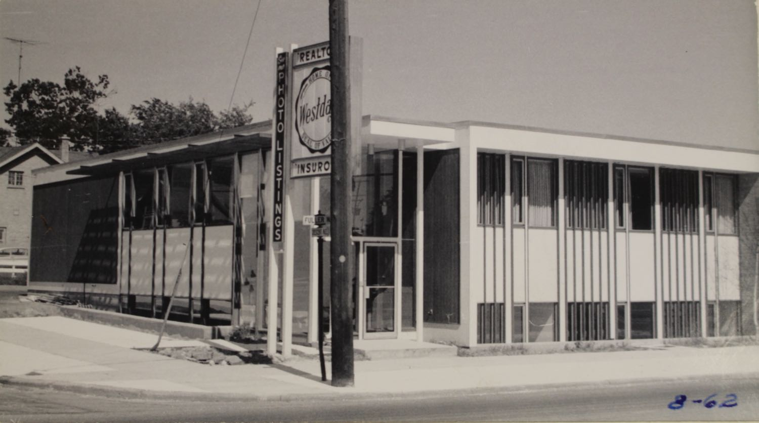 345 Fuller NE as Westdale Company   1962 Photo Courtesy of the City of Grand Rapids Community Archives and Research Center