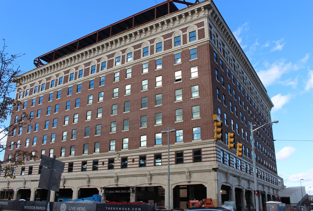 ROWE HOTEL UNDER RE-CONSTRUCTION IN 2015