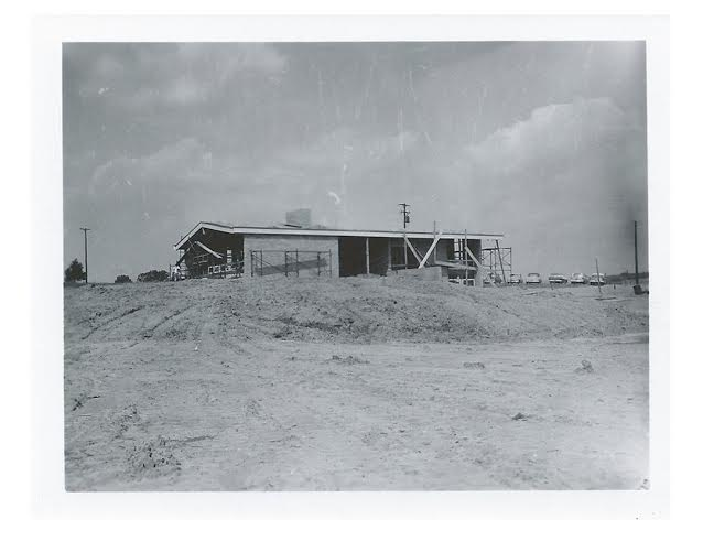 The Sheriff's House under construction. Photograph courtesy of the Kent County Sheriff's Office.