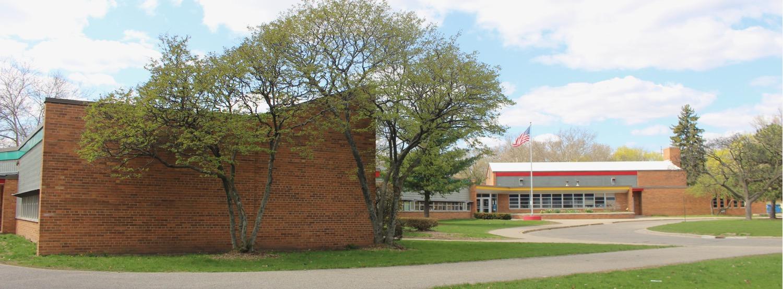Brookside Elementary School 1954 designed by Louis Kingscott