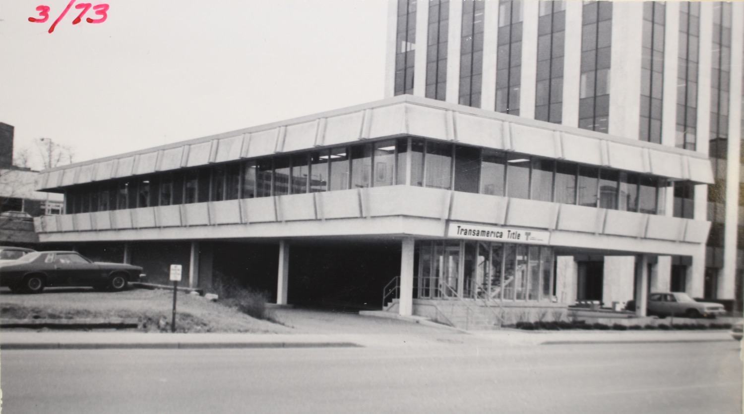 1960''s Photo Transamerica Title Company showing building before the expansion on the north side.  Photo Courtesy of City of Grand Rapids Community Archives and Research Center.