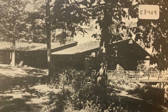 Backyard on Blythfield Country Club 1960's