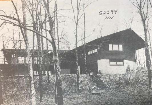 Rogue River House 1960's