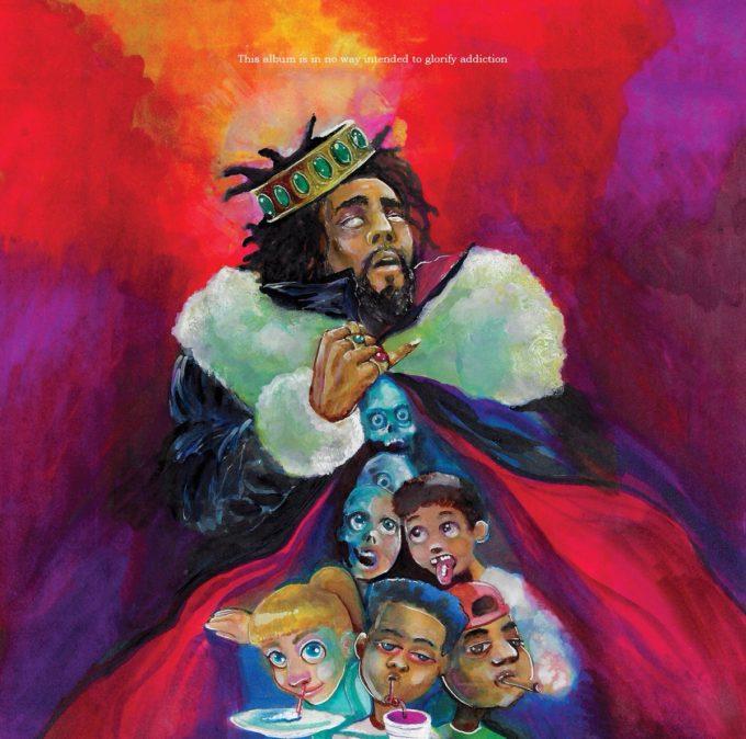 J Cole KOD Cover Art
