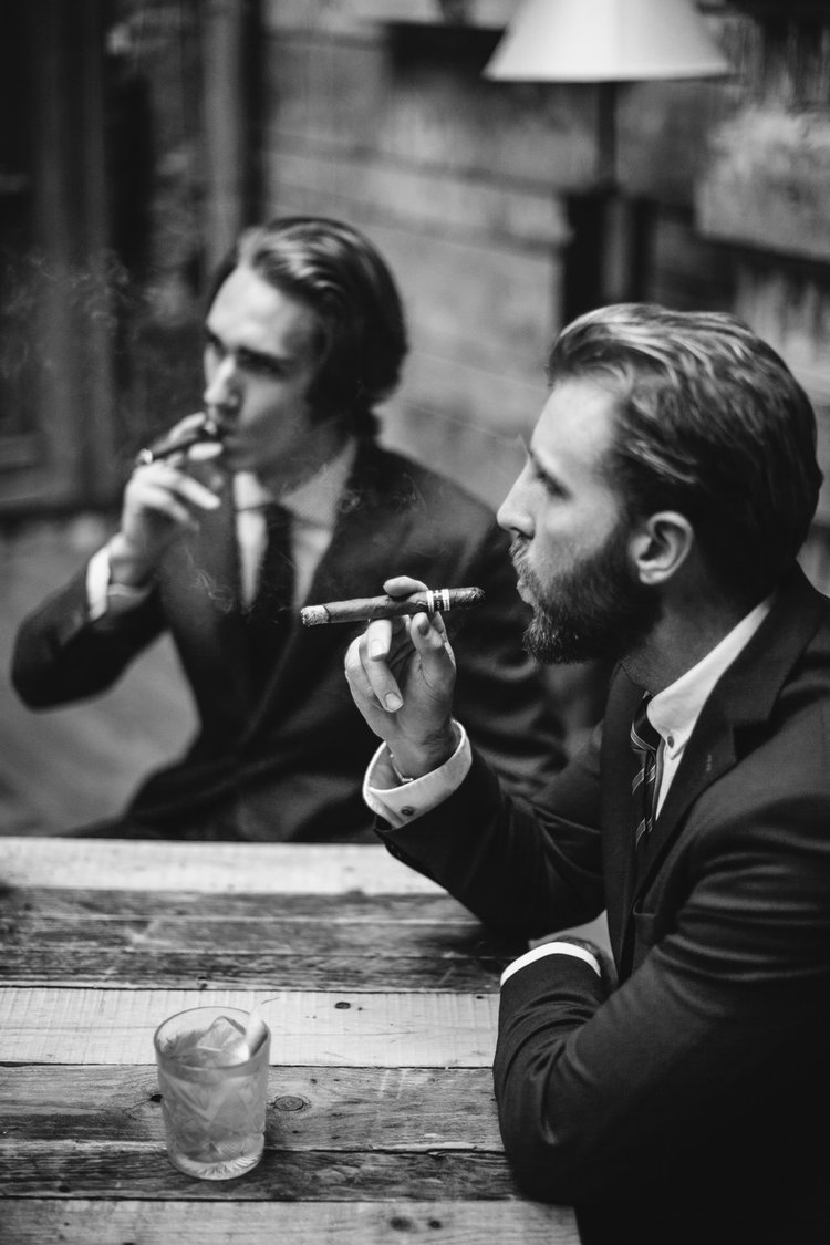Well Travelled Bride Budapest Bachelor Party Cigars.jpg