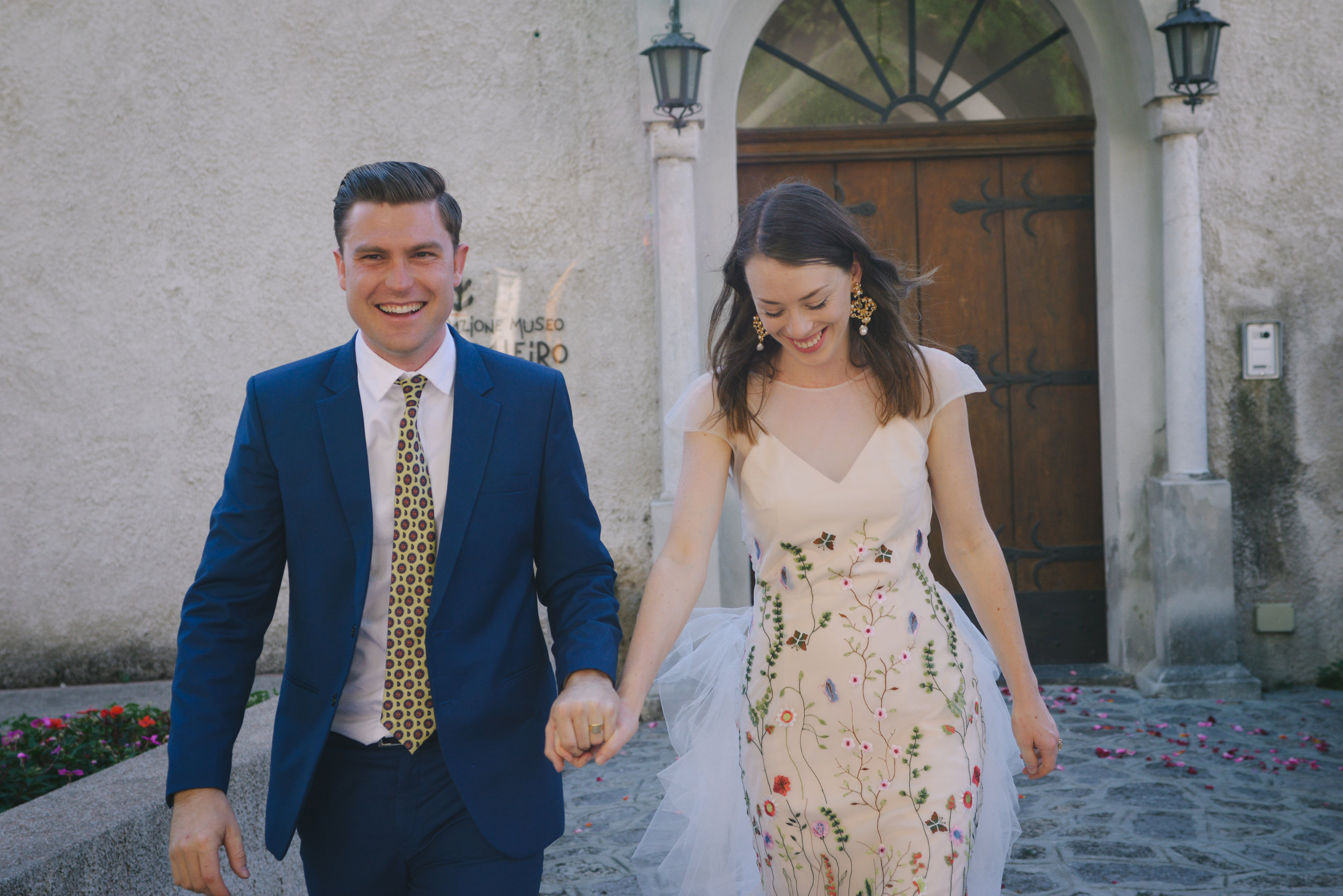 Well Travelled Bride Amalfi Elopement Kelsey Genna David Palfreyman