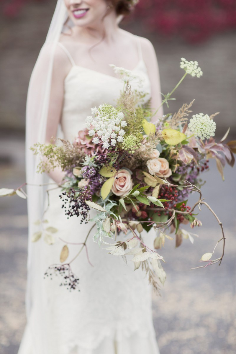 Handcrafted Floral Designs Inspired by the Scottish Landscape - Living in Scotland is a floral designer's dream. Surrounded on all sides by crumbling castles, climbing foliage, and lush moorlands, Di Mackay of Myrtle & Bracken draws her inspiration from Scotland's wild beauty and creates floral arrangements that showcase the best that nature has to offer. We love how her organic designs add a touch of bespoke elegance to weddings taking place in both castles and moors. No matter the season, the floral experts behind Myrtle & Bracken are not afraid to roll up their sleeves and forage the landscape, sourcing local blooms that add an air of romance to your Scottish love story.Visit WebsiteSouth Ayrshire, ScotlandPhone: +44 785 466 3121Email: info@myrtleandbracken.com