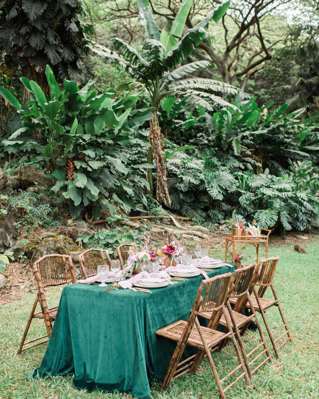 Fresh, Vintage-Inspired Island Style - It's hard to plan a wedding from hundreds or thousands of miles away. Even harder when you're dreaming of lush botanicals, vintage rattan furniture, hand-crafted details and bright pops of colour. That's where the brilliant creatives behind Roam Rentals step in to save the day. Their love for all things vintage, bohemian, and modern shine in the fresh, gorgeous weddings they plan all across Hawaii.Visit WebsiteOahu, HawaiiPhone: 1 808 367 5988Email: hello@roamrentalshawaii.com