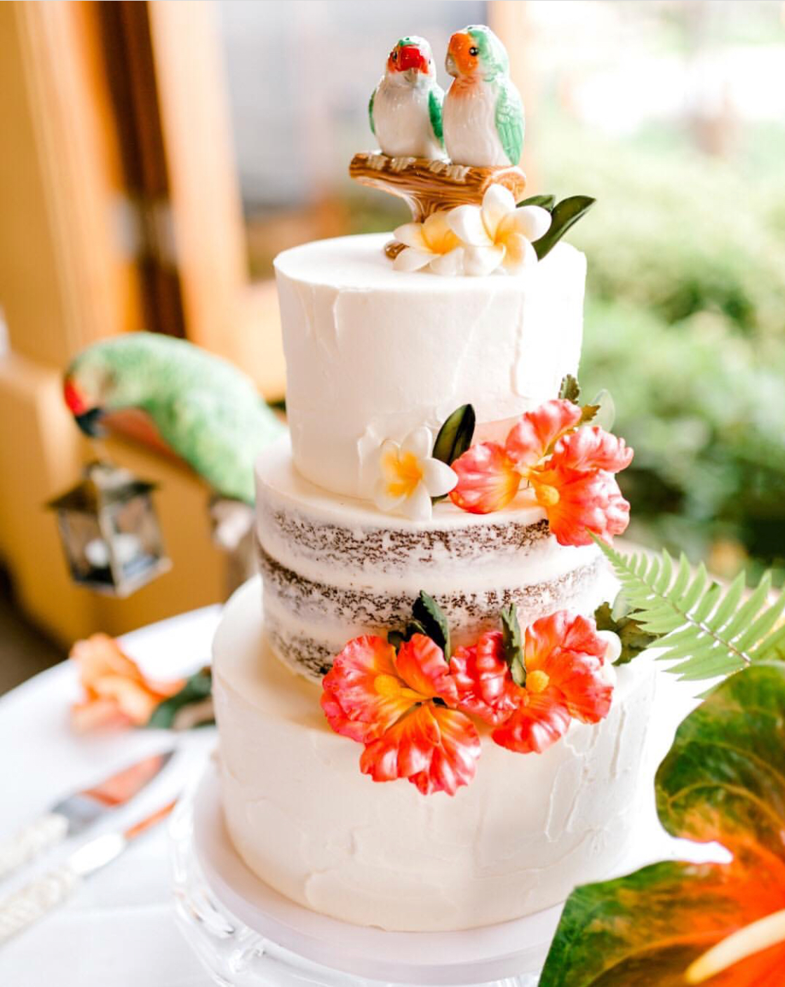 Creative Cakes That Suit Every Style - From elegant, understated cakes to colourful custom confections, Cake Fanatics of Maui consistently deliver top-notch desserts across the islands. Just scroll through their instagram and your mouth will start to water at the vast array of cakes, featuring everything from four tiers of florals to a surfer catching a blue-crested wave of frosting. So whether you're looking to celebrate your event with a custom cake, cupcakes, macaroons, mini bundts, or a candy buffet - rest assured that Cake Fanatics will bring not only the flavour, but the creativity as well.Visit WebsiteMaui, HawaiiPhone: 1 808 214 7767Email: celebrate@cakefanaticsmaui.com
