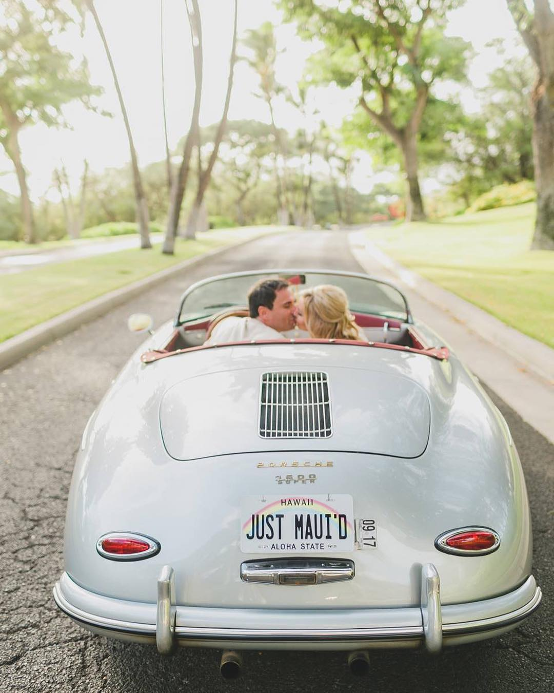 Give Your Day a James dean Ending - Once upon a time, Jerome and Yvonne Bosch lived in Michigan, where snow often covered the ground and the heart of the US auto industry beat around them. But after a dreamy vacation in Hawaii they started believing they might be ready to trade in their snow boots for surfboards. They moved to Maui in 2018 and took over Maui Roadsters, a family-owned company renting out 1957 Porsche 356 Speedster Reproductions. Their fleet of speedsters are sleek, timeless, and each given a distinct Hawaiian name that speaks to its unique qualities. So whether you're leaning toward the elegant Lani or the purr of the sexy Hoku, make sure you book your picture-perfect ride into the sunset today.Visit WebsiteMaui, HawaiiPhone: 1 808 339 6204Email: info@mauiroadsters.com