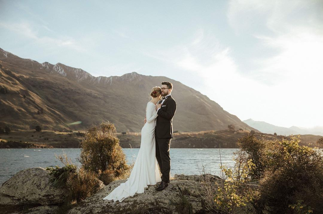 Well Travelled Bride In Good Company Wedding Photographer Videographer Lake Wanaka Queenstown.jpg